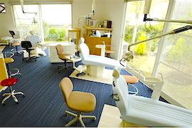 うえの矯正歯科の診療室